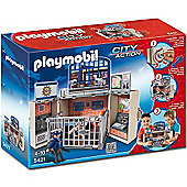 Playmobil City Action- My Secret Police Station Play Box 5421