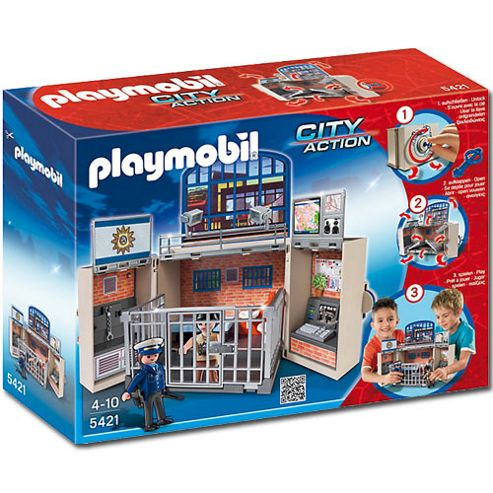 Playmobil 5421 City Action My Secret Police Station Play Box