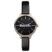Bench Ladies Slimline Leather Watch - BC0422RSBK