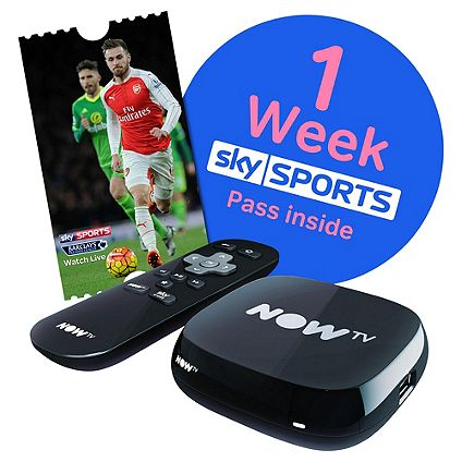 Enjoy the new season with NOW TV including 1 Week Sky Sports Pass