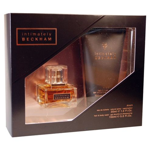 David Beckham Intimately 30ml EDT Spray & 150ml Hair and Body Wash Gift Set