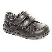 Feet Street Boys Marlin Black Shoes - Black