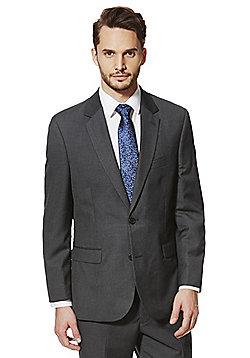 F&F Charcoal Regular Fit Suit Jacket - Charcoal