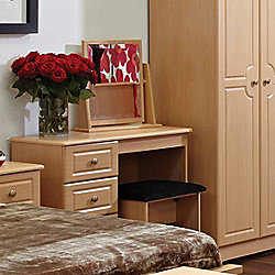 Welcome Furniture Pembroke Vanity - Beech