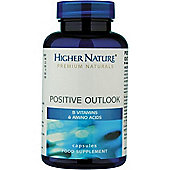 Higher Nature Positive Outlook Mood Balancer 180 Veg Capsules