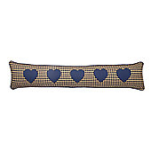 Woven Magic Country York Mini Plaid Navy Draught Excluder
