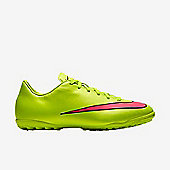 Nike Mercurial Victory TF Kids Astroturf Shoes - Yellow - Yellow