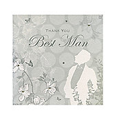 Enchanted Best Man Thank You Card