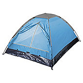 Tesco Basics 4-Man Blue Dome Tent