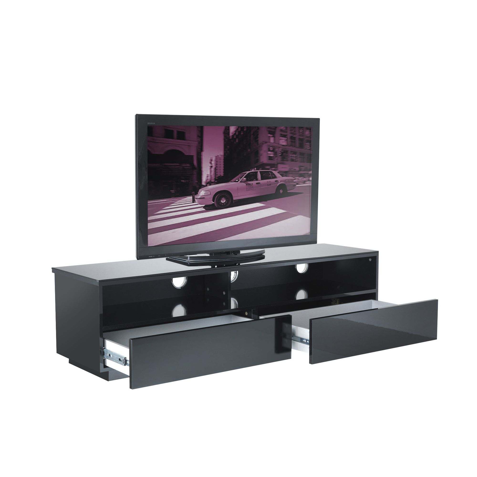 UK-CF Cityscape New York TV Stand - Black at Tesco Direct