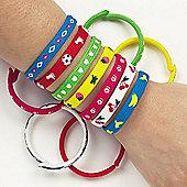 Trendy Snap-on Bracelets for Children (6 Pcs)
