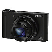 Sony DSC-WX500 Compact Camera with 30x Optical Zoom, Black
