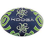 Kooga Maori Rugby Ball Navy / Lime Size 3