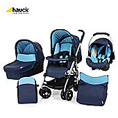 Hauck Condor All-In-One Pushchair, Moonlight/Capri