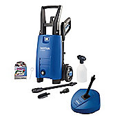 Nilfisk C110 4-5 PC X-TRA Compact High Pressure Washer with Patio Cleaner - Blue
