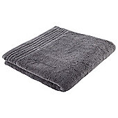 Tesco 100% Egyptian Cotton Bath Towel Charcoal Grey