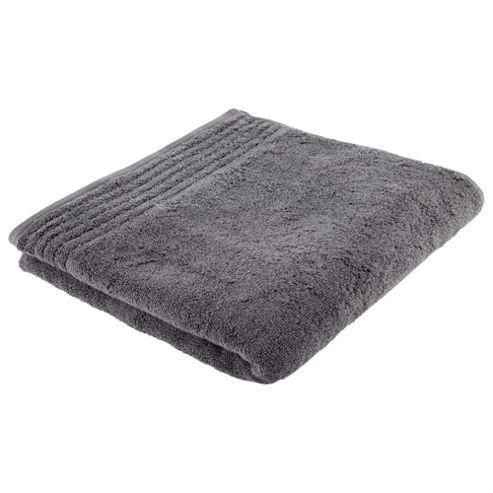 Tesco House of Cotton Charcoal Bath Towel