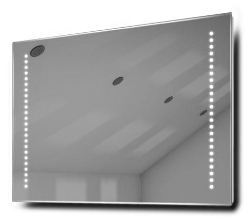 buy beatrix shaver led bathroom illuminated mirror with demister pad
