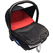 Car Seat Footmuff To Fit Jane Red
