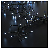 Festive 480 LED Cluster Lights, White