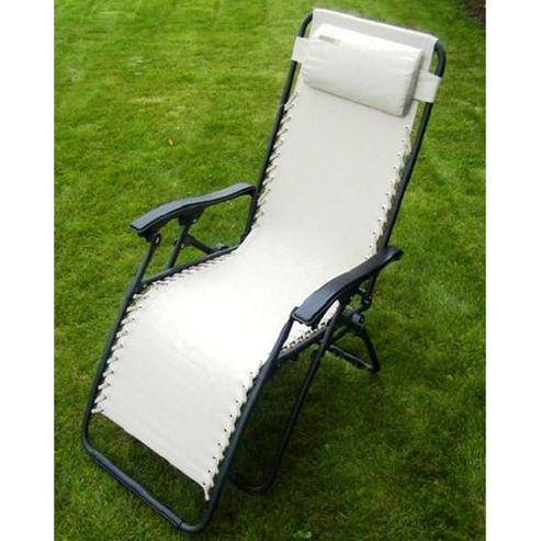 Culcita Zero Gravity Texteline Relaxer Chair