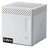 Bem Bluetooth Portable Speaker White
