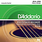 D'Addario Acoustic Heavy 14-59