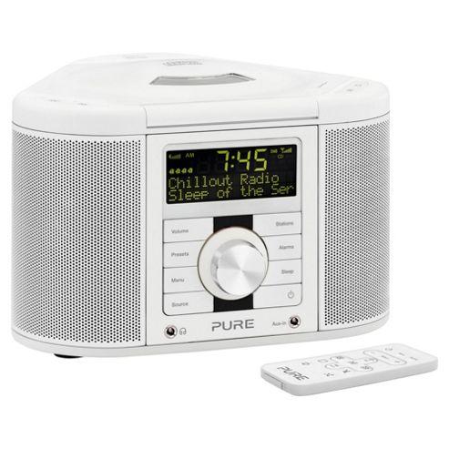buy pure chronos cd s2 dab fm radio white from our clock radio range tesco. Black Bedroom Furniture Sets. Home Design Ideas
