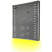 Ambient Ultra-Slim LED Bathroom Mirror With Demister Pad & Sensor K13Y