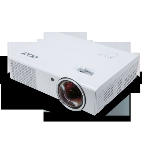 Acer S1370WHn DLP 3D (TI) Projector 10,000:1 2500 Lumens 1280x800 2.6kg (Networked)