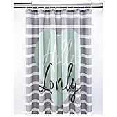 Tesco Hello Lovely Shower Curtain