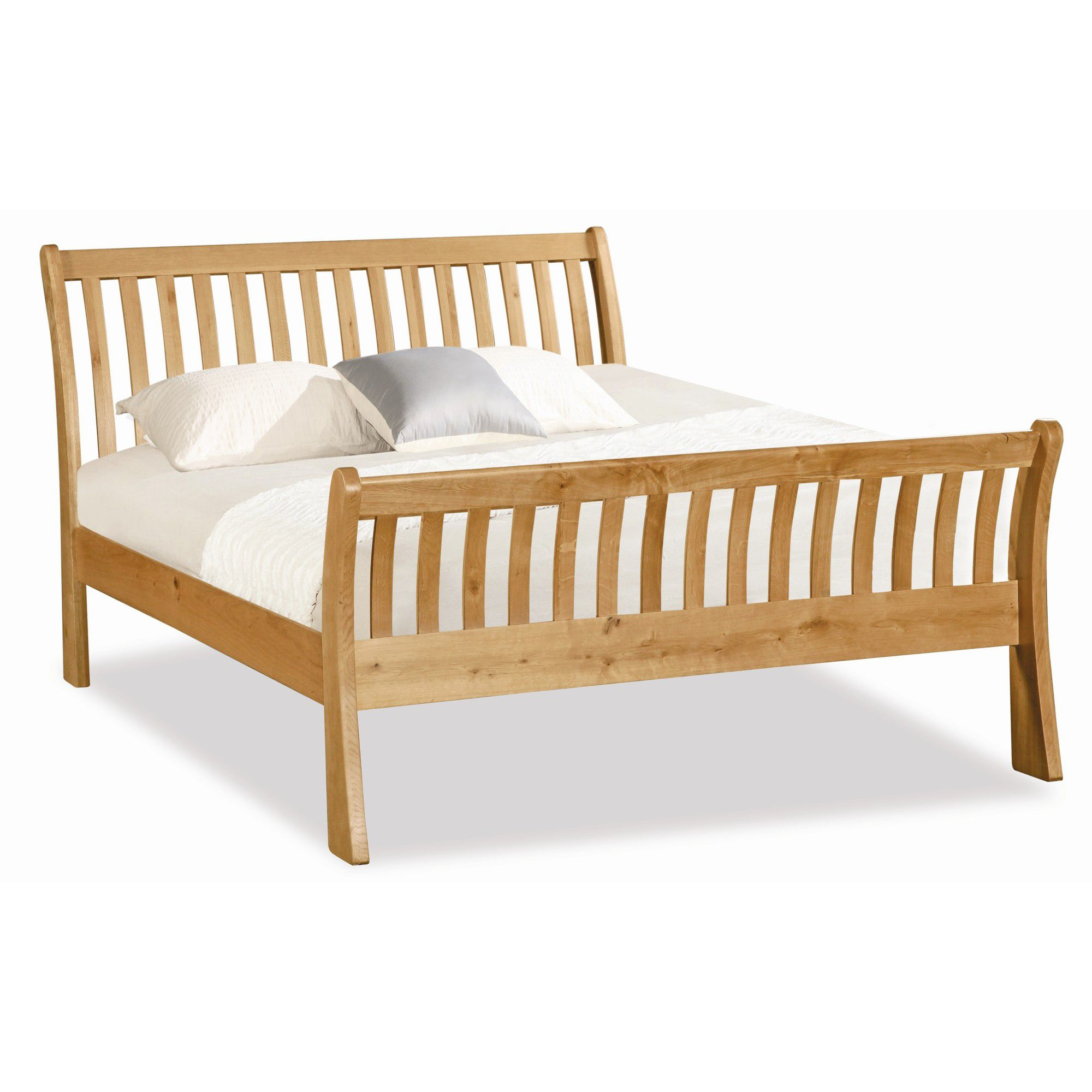 Alterton Furniture Pemberley Sleigh Bed - King at Tesco Direct
