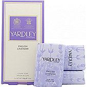 Yardley English Lavender Soap 3x 100g