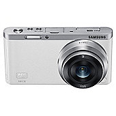 "Samsung NX Mini SLR Camera, White, 20.5MP, 3"" LCD Touch Screen, Wi-Fi"
