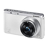Samsung NX Mini Camera White 20.5MP 3.0LCD 9mm