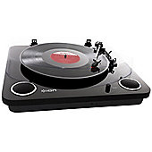 ION Max LP USB Turntable - Black