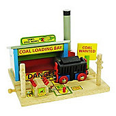 Bigjigs Rail BJT197 Tom's Timber Yard