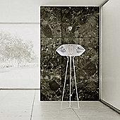 Arturo Alvarez V Floor Lamp - White Painted Metal - White