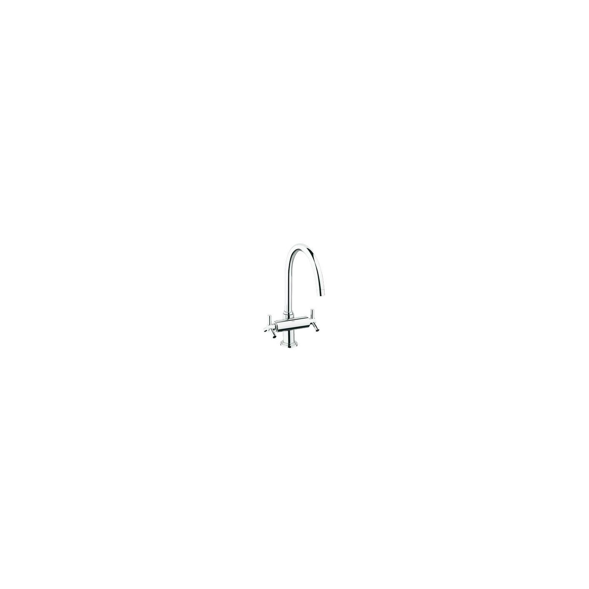 Grohe Ypsilon Mono Sink Mixer Tap, Dual Handle, Chrome at Tescos Direct