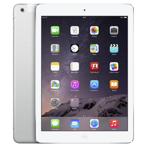 Apple iPad Air, 16GB, WiFi & 4G LTE (Cellular) - Silver