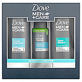 Dove Men+Care Essential Care Trio Gift Pack