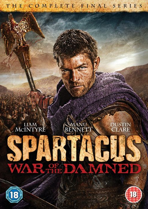 Spartacus - War Of The Dammed - Series 3 (DVD Boxset)