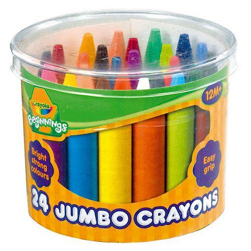 Crayola Beginnings - 24 Jumbo Crayons