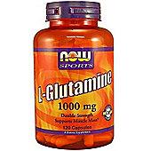 Now L-Glutamine 1000 mg 120 Capsules