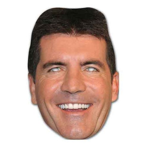 Celebrity Masquerade Party Masks - Simon Cowell