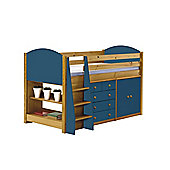 Verona Mid Sleeper Set 2 Antique With Blue Details