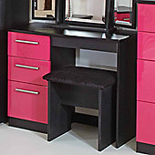 Welcome Furniture Knightsbridge Vanity - Black - Black