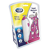 Scholl Manicure Set Travel, Pink