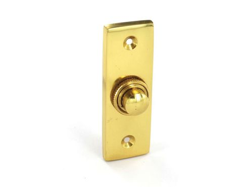 Securit S2257 Victorian Bell Push Oblong 75mm