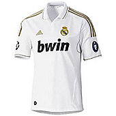 2011-12 Real Madrid Adidas Home UCL Shirt - White